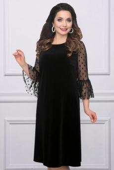 Новинка: черное бархатное платье CHARUTTI