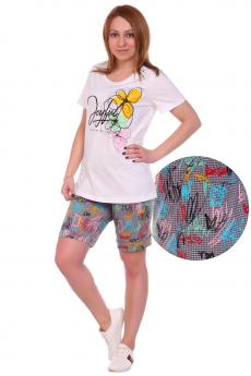 Костюм: футболка и шорты ElenaTex